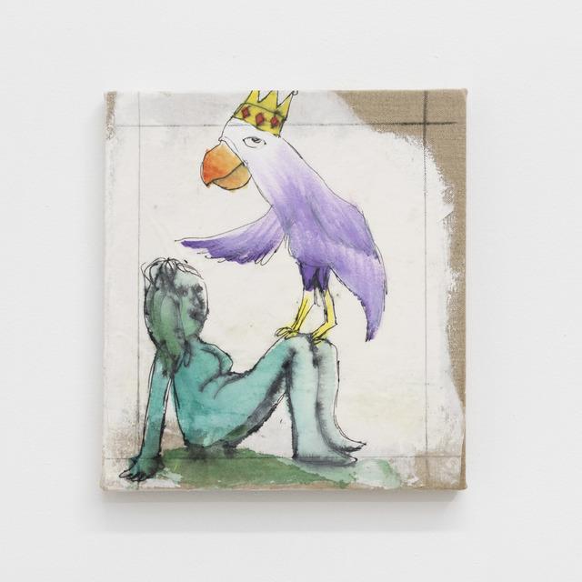 Daniel Boccato, 'parrotpainting', 2019, M+B