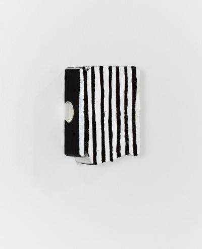 Cordy Ryman, 'Zebra #1', 2020, Painting, Acrylic on wood, Freight + Volume