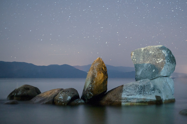 , 'Night Rocks, Tahoe 2017,' , ArtStar