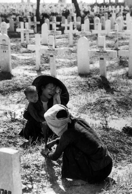 , 'Military cemetery.  Namdinh, Vietnam. ,' 1954, Magnum Photos