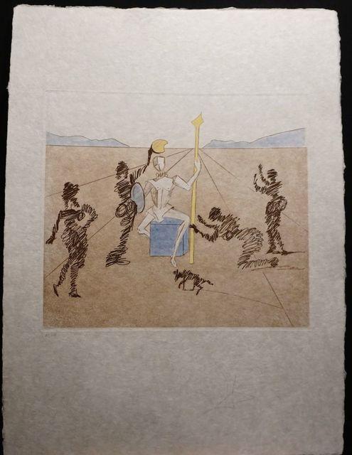 Salvador Dalí, 'Historia de Don Quichotte de la Mancha The Golden Helmet of Madrino', 1980, Fine Art Acquisitions