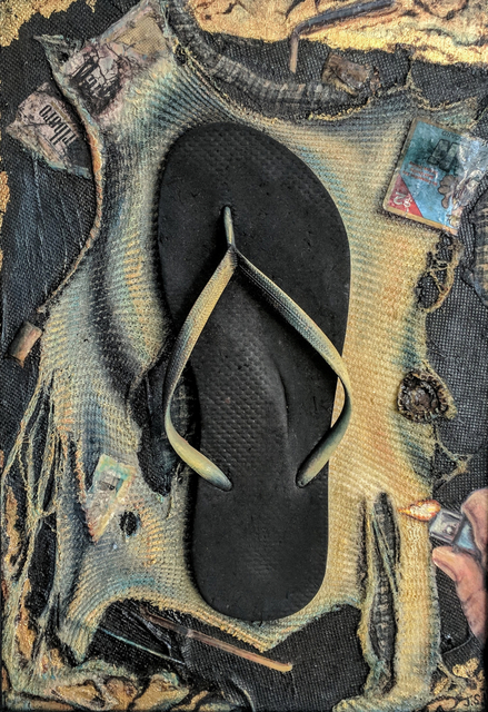 , 'Flip Flop of Antiquity,' 2016, Emerge Gallery NY