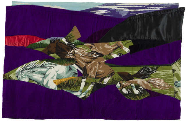 , 'ATLI HALI / CARPET WITH HORSES,' 1986, RAMPA