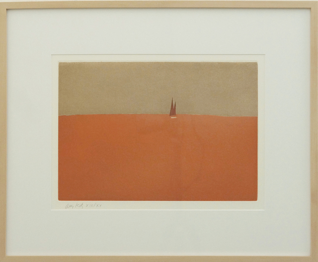 , 'Red Sail, 1959 From the portfolio Small Cuts,' 2008, Richard Levy Gallery