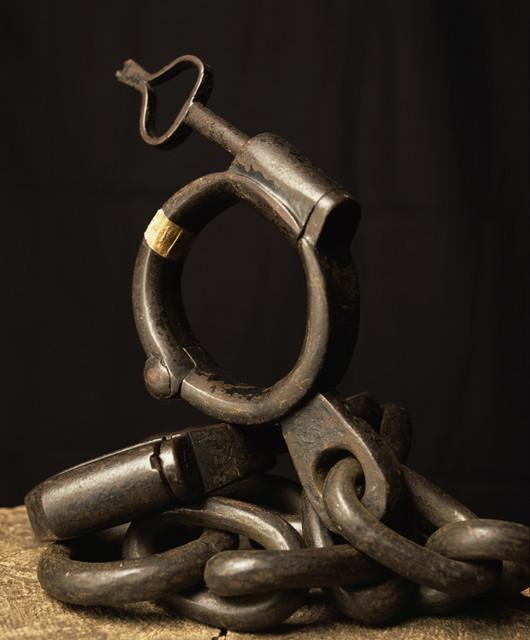, 'Iron Shackle (Torture) ,' 2015, Galerie Nathalie Obadia