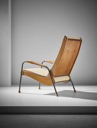 Rare 'Visiteur' armchair, type FV. 12