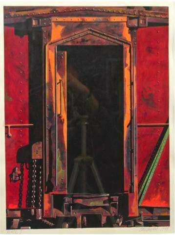 , 'Portal I,' 1989, Eckert Fine Art