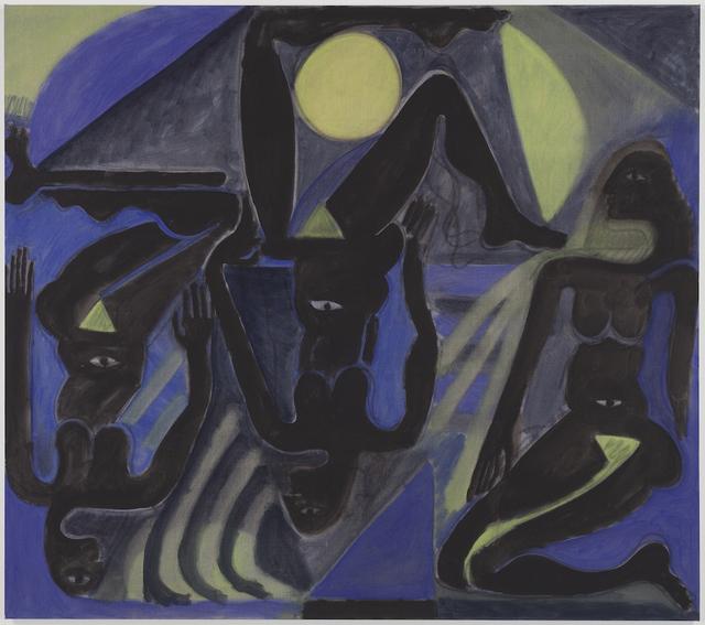 , 'Figures in the Dream of the Moon,' 2014, Tatjana Pieters