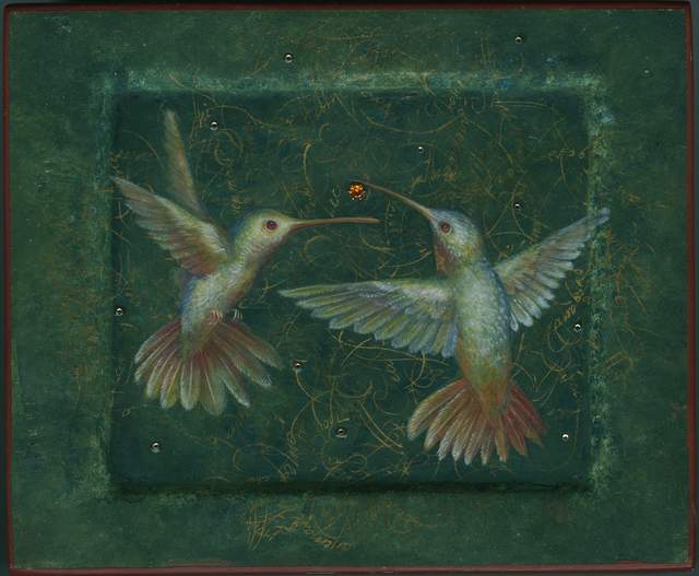 , 'The Dance of the Hummingbirds,' , Sirona Fine Art
