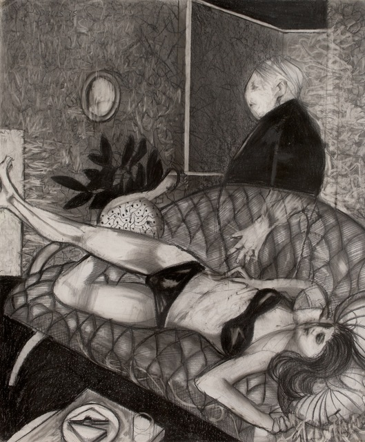 James Davis, 'Woman on Couch', 1975, Bentley Gallery