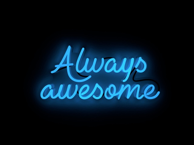 , 'Always awesome,' 2018, Contempop Gallery
