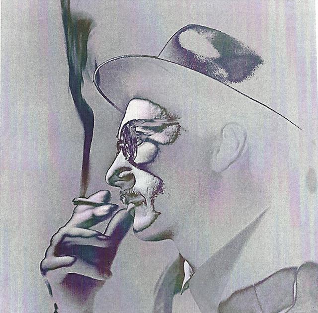 , 'Fumante #2/10,' 1954/2015, RocioSantaCruz