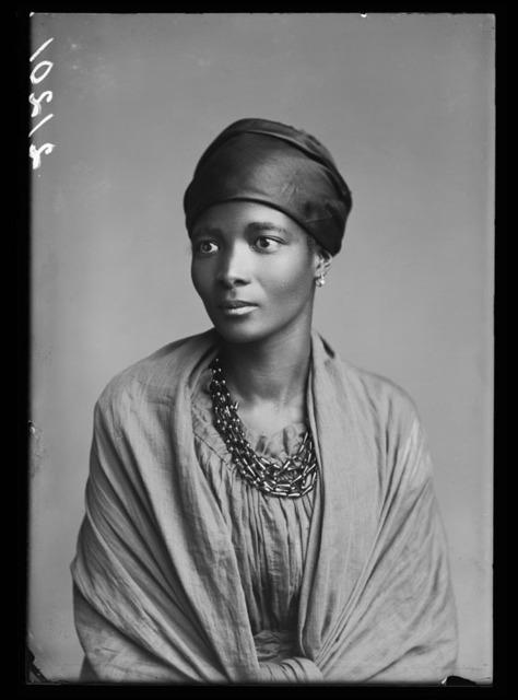 , 'Eleanor Xiniwe, The African Choir,' 1891, Autograph ABP