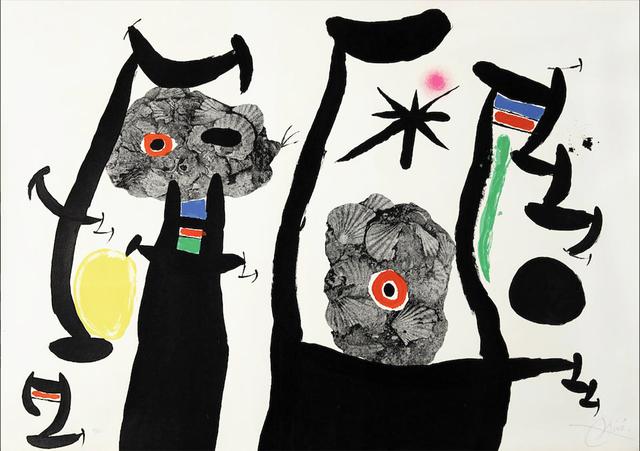 Joan Miró, 'The Shellfish', 1969, Print, Lithograph, Christopher-Clark Fine Art