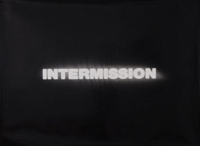 , 'Intermission,' 1992-2012, 1301PE