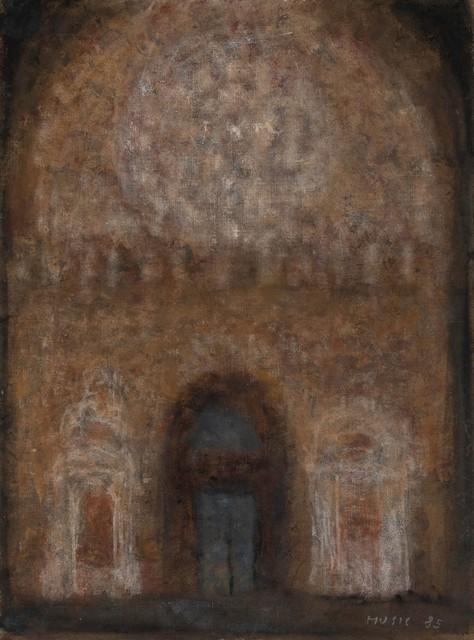 Zoran Antonio Mušič, 'Interno di Cattedrale', 1985, Cambi