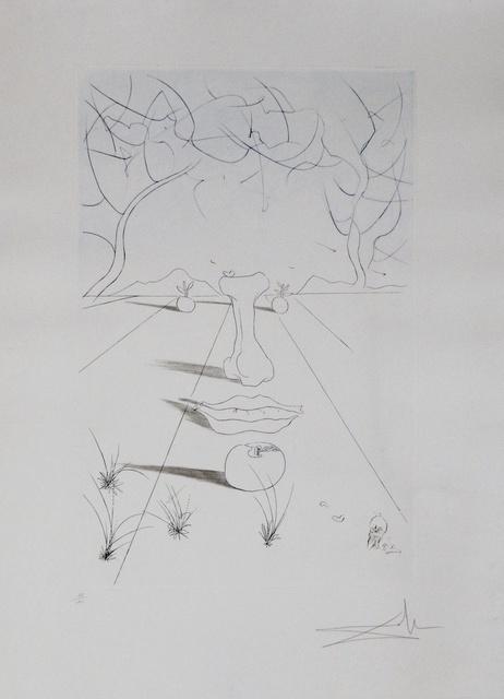 Salvador Dalí, 'Aurelia Visage Surrealiste', 1972, Fine Art Acquisitions
