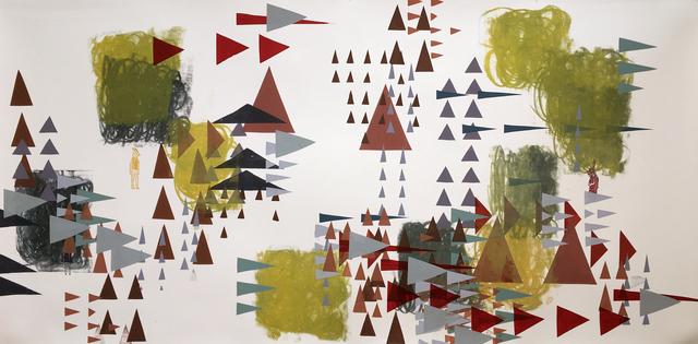 , 'Through the Trees I,' 2017, JAYJAY