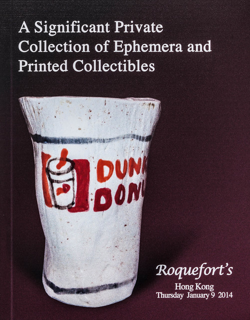 , 'Catalogue Cover (Ephemera),' 2013, Rosamund Felsen Gallery