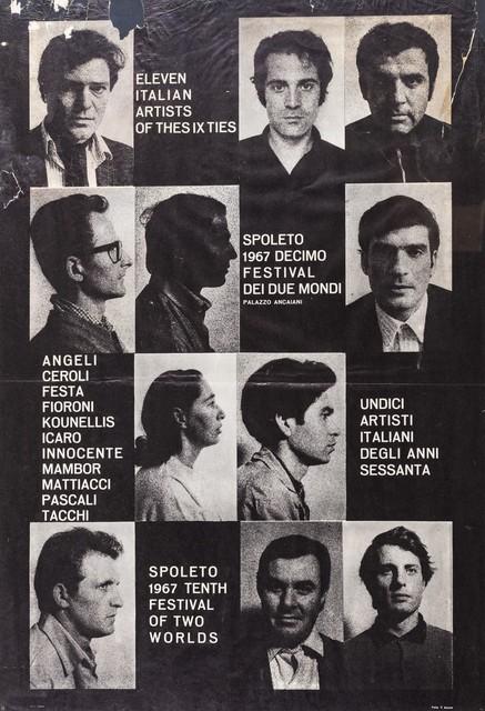 'Spoleto 1967', Posters, Poster, Finarte