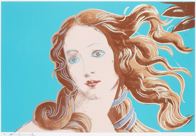 Andy Warhol, 'Sandro Botticelli, Birth of Venus, 1482 (FS II.319)', 1984, Revolver Gallery