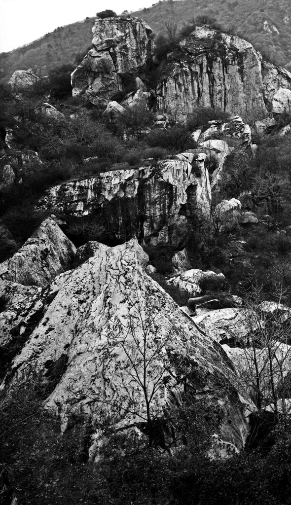 To complete XISHAN, I started from Yaozhou, the hometown of Fan Kuan, a master in the Northern Song Dynasty, and travelled through Wangchuan, Central Plains and regions south of the Yangtze River. During my trip I visited all kinds of wonderful scenery and acquainted myself of many hermits. After one year of creation I decided that I should set my feet on places that had never been trodden by predecessors. I also attempt to create some more experimental works with pure traditional photography.