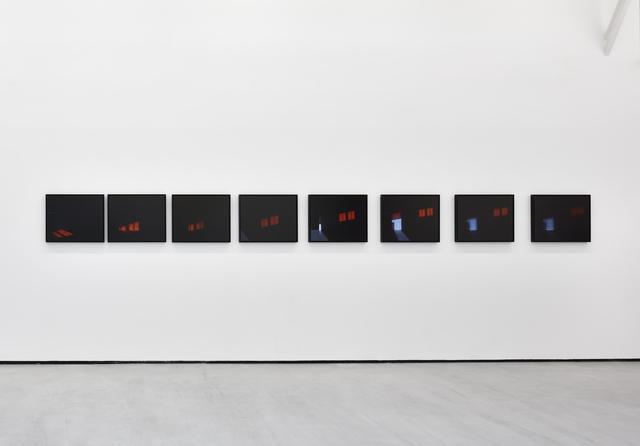 , '4 heures, intervalles,' 2017, Galerie Christophe Gaillard
