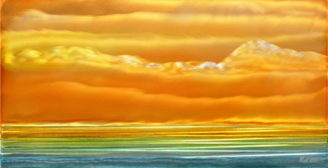 , 'A Golden Glow,' 2018, Mark White Fine Art