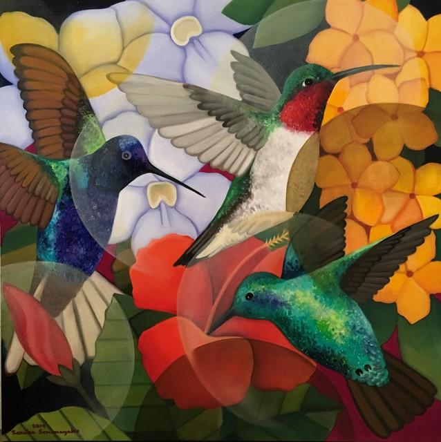 , 'Hummingbirds,' 2019, Grosvenor Gallery