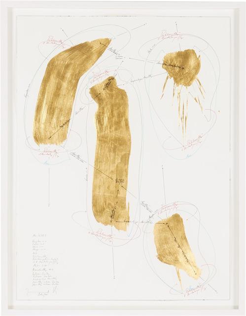 , 'Now (Gold) I,' 2013, Grieder Contemporary