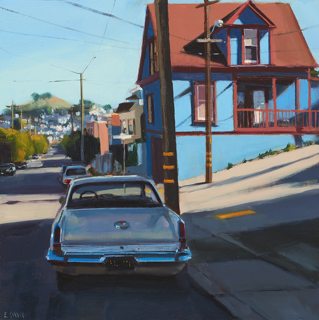, 'Blue House,' 2015, Paul Thiebaud Gallery