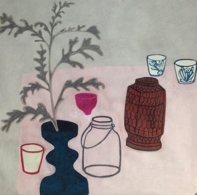Angela A'Court, 'Pink Pot', 2019, Susan Eley Fine Art