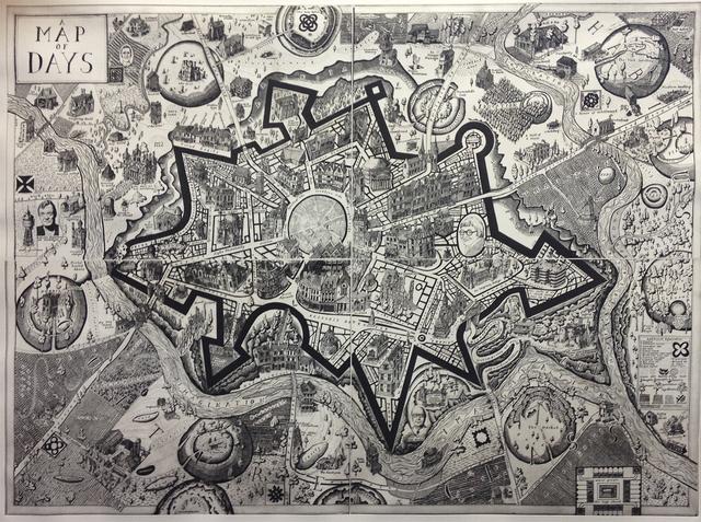 , 'Map of days,' 2013, Galerie Maximillian