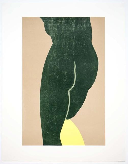 Gary Hume, 'Yellow Slip', 2017, Royal Academy of Arts