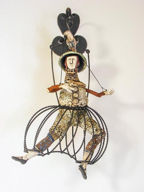 , 'He Wears His Pants Like a Cage,' 2018, WaterWorks Gallery