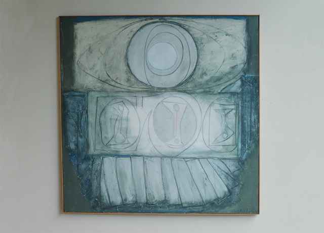 , 'La Cathedrale engloutie: Silver Grey,' 1963, New Art Centre