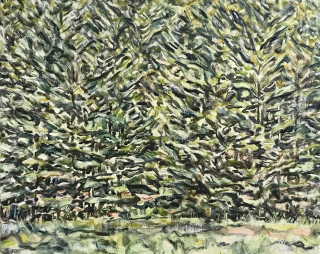 Edward Bear Miller, 'White Pine Medley', 2019, Keene Arts