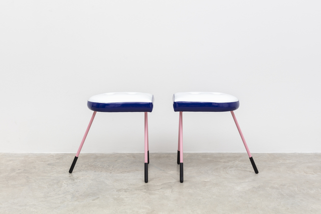 , 'Pair of Booti Stools,' 2018, Friedman Benda