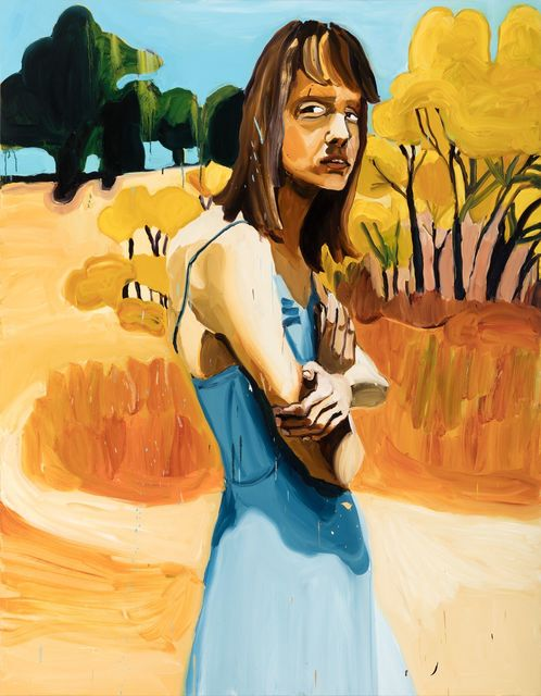 Jenni Hiltunen, 'Woman with Arms Crossed', 2017, Painting, Oil on canvas, Mimmo Scognamiglio / Placido
