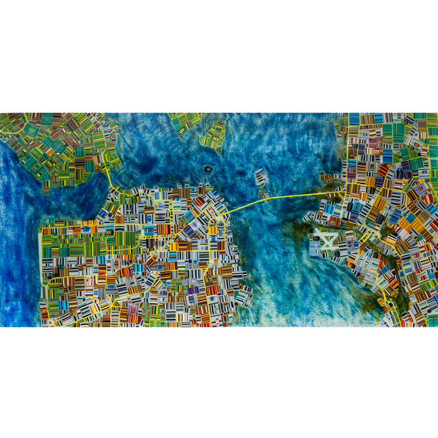 , 'Map of San Francisco,' 2015, Petroff Gallery