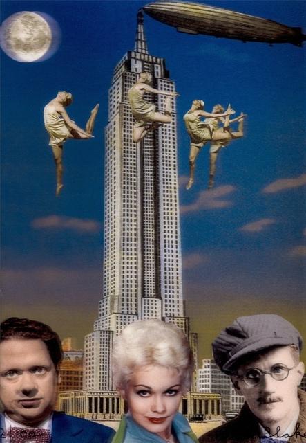 Peter Blake, 'New York (Dylan Thomas, Kim Novak and James Joyce)', 2013, Forum Auctions
