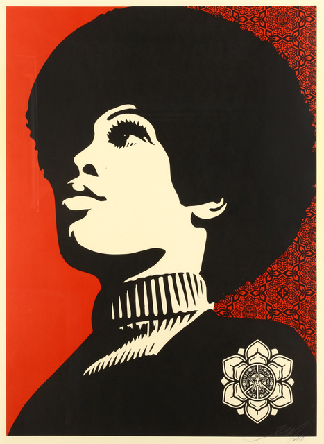 Shepard Fairey, 'Panther Power', 2007, Chiswick Auctions