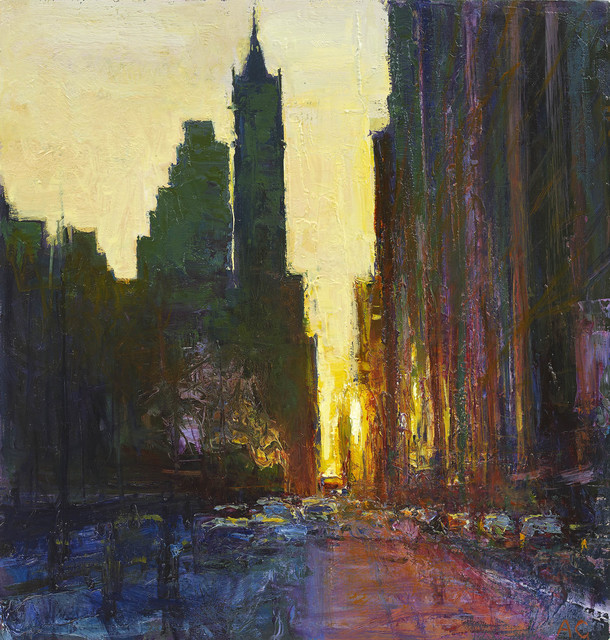 , 'Central Park South, Looking East, First Light, Winter,' , John Martin Gallery