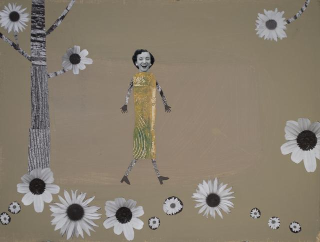 , 'Woman in Her Garden,' 2015, Turner Carroll Gallery