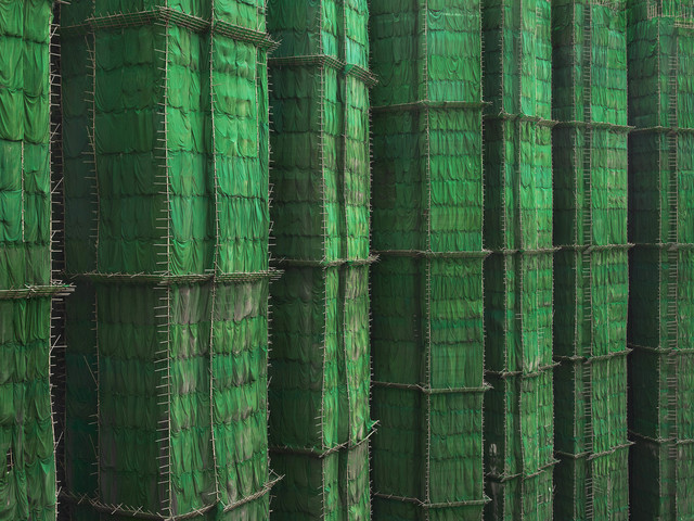 , 'Green Cocoon Walls, Hong Kong - 2010,' 2010, Contemporary by Angela Li