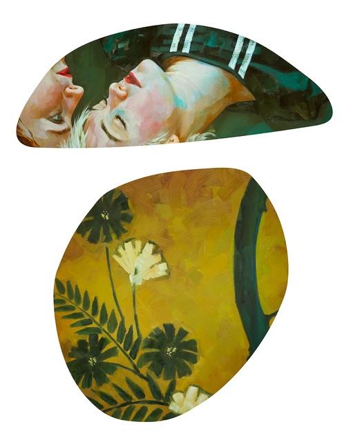 Xenia Hausner, 'The Intelligence of Flowers', 2018, Galerie von Braunbehrens