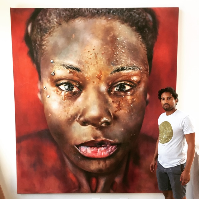 , 'Blood and Water,' 2016, Art Unified Gallery