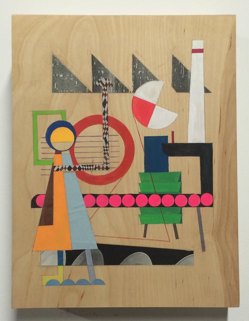 , 'Worker #1,' 2013, Nathalie Karg Gallery