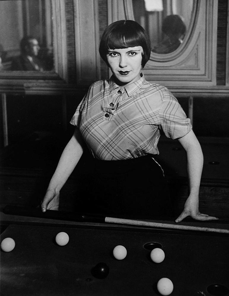 Brassaï, 'La fille de Joie au Billard Russe,' 1932, ClampArt