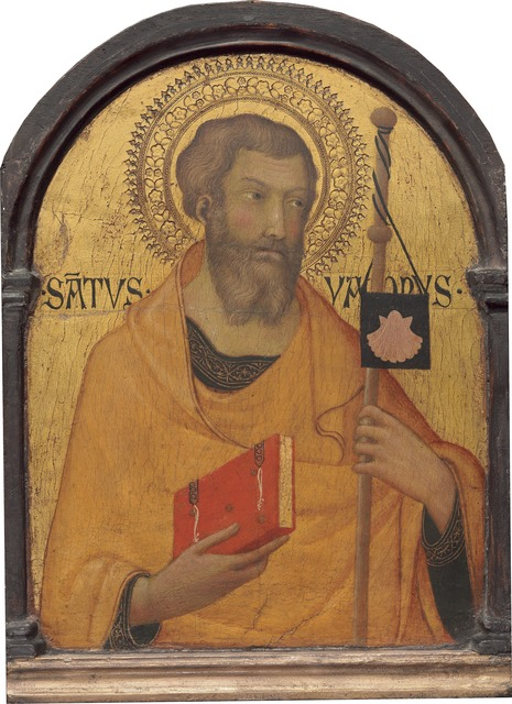 Workshop of Simone Martini, 'Saint James Major', probably ca. 1320, National Gallery of Art, Washington, D.C.